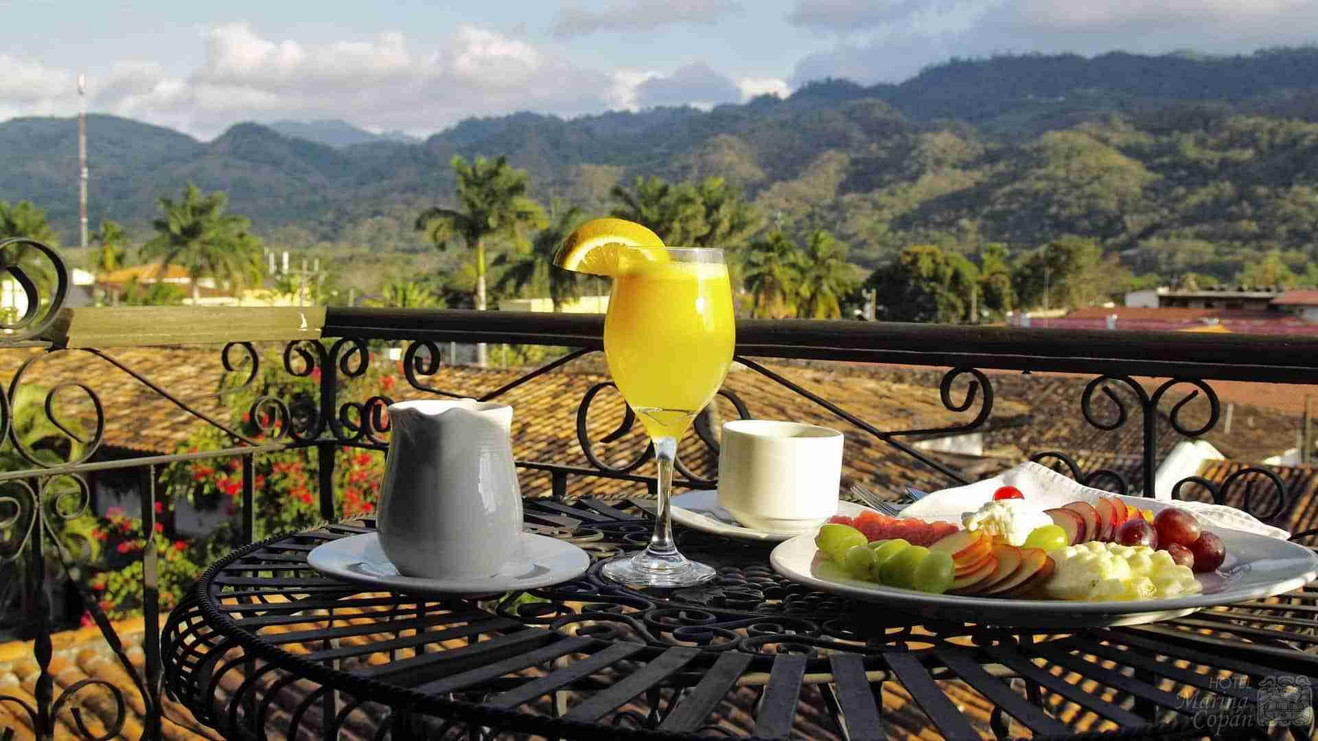 Tower Suite Breakfast