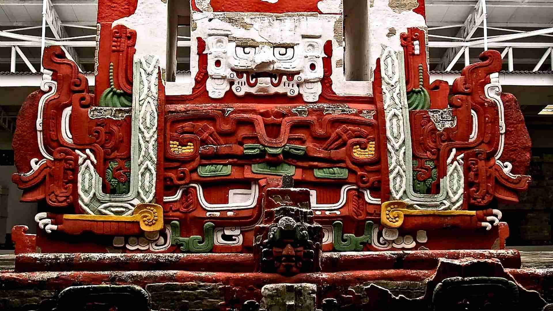 Rosalila Temple Detail Copan
