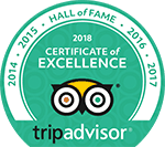 Hotel Marina Copan - Hall of Fame TripAdvisor 2018